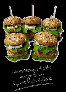 Sandwichs de Faim Gourmet